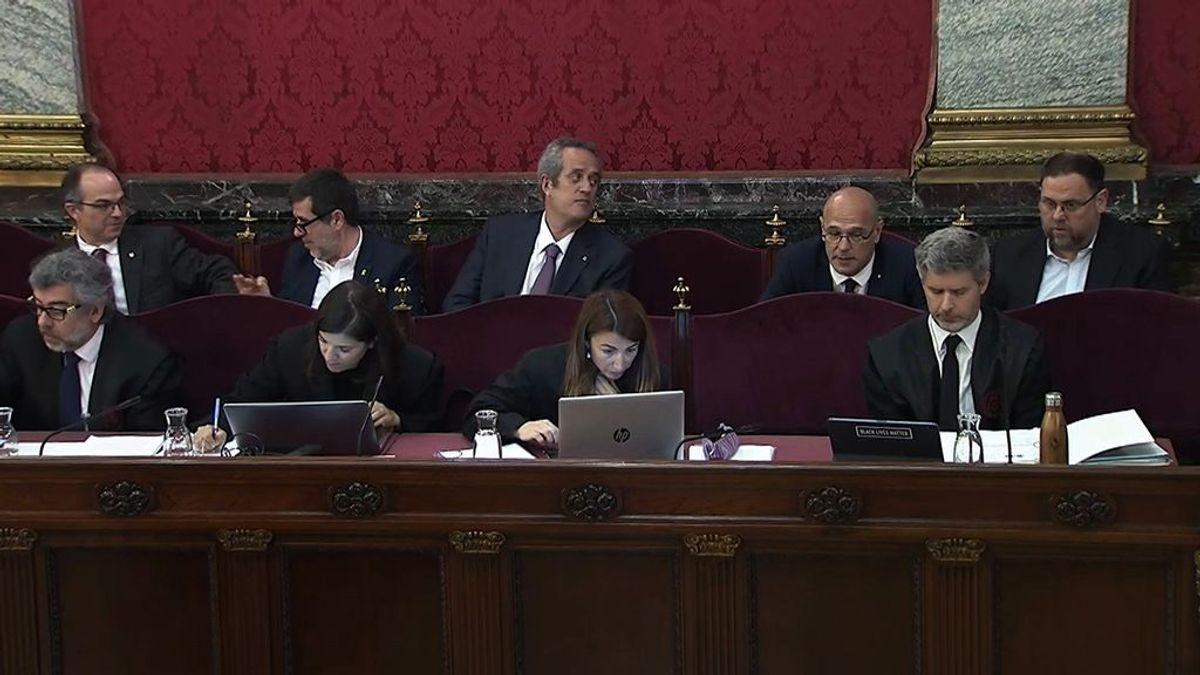 Testigos sitúan a Trapero, Sànchez y Cuixart en el nucleo de decisiones del Gover y el 1-O