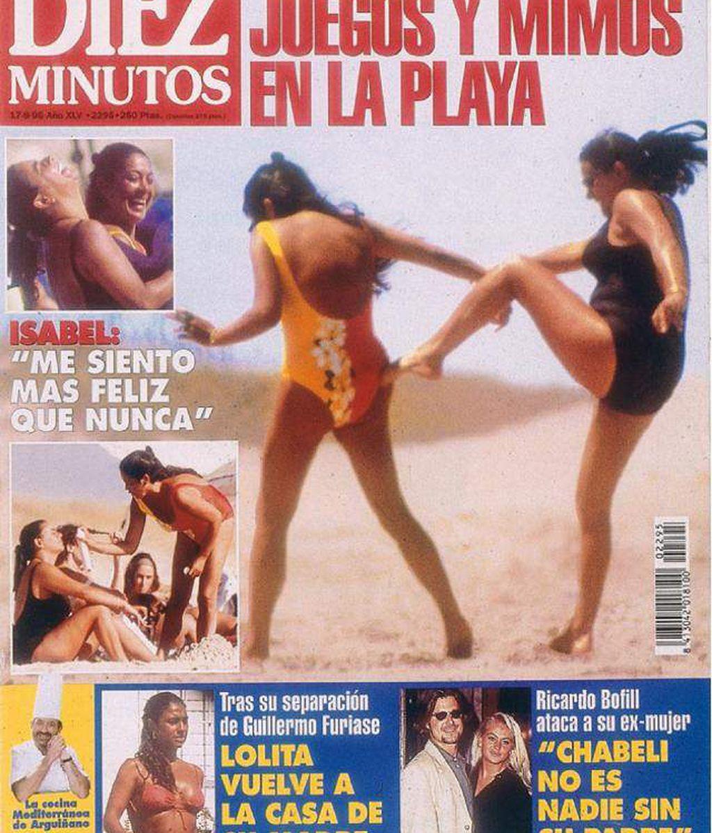 El bañador será la primera prueba de 'supervivencia' para Isabel Pantoja