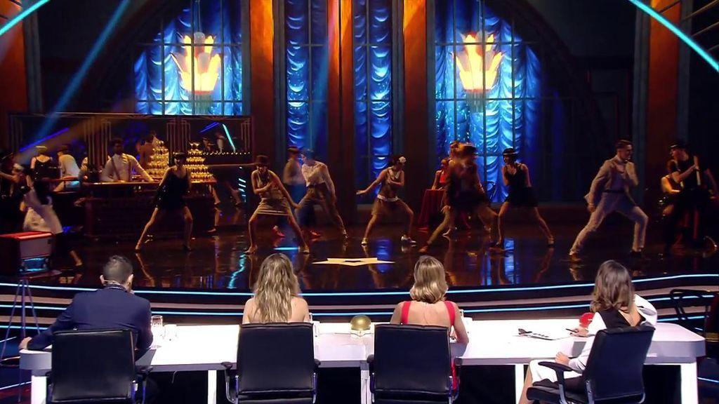 """La brutal coreografía de D'oo Wap que hace que Risto flipe: """"Esto sí es un número de baile"""""""