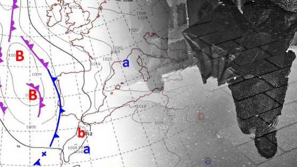 Tren de borrascas en Semana Santa: la lluvia y el frío llegarán a prácticamente todas las provincias