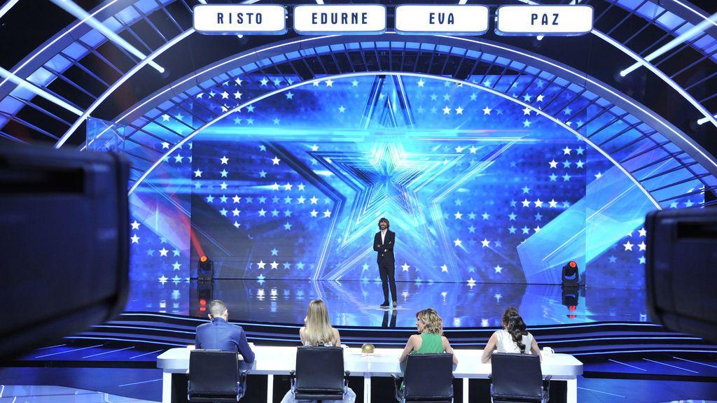 'Got Talent España' (21% y 2.171.000) lidera con casi 17 puntos de ventaja sobre '45 revoluciones' (4,1% y 624.000)