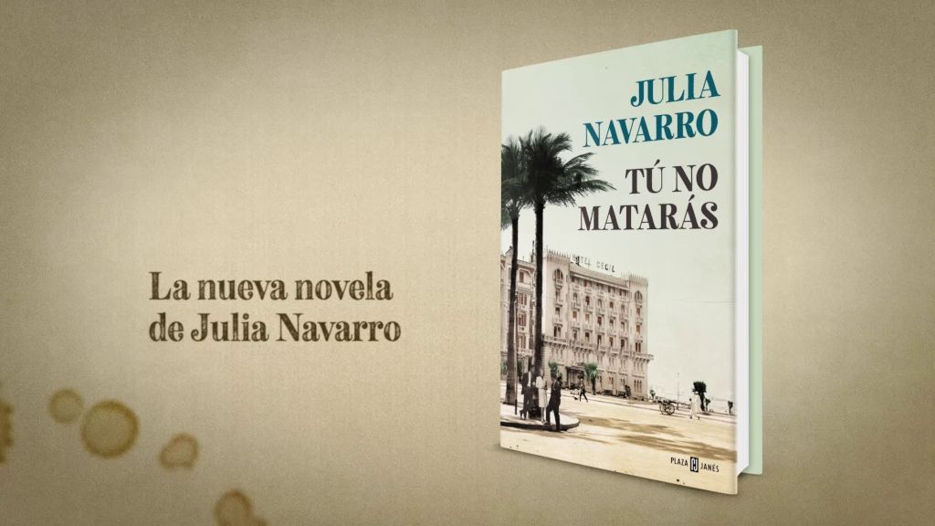 Julia Navarro acaba de publicar 'Tú no matarás'