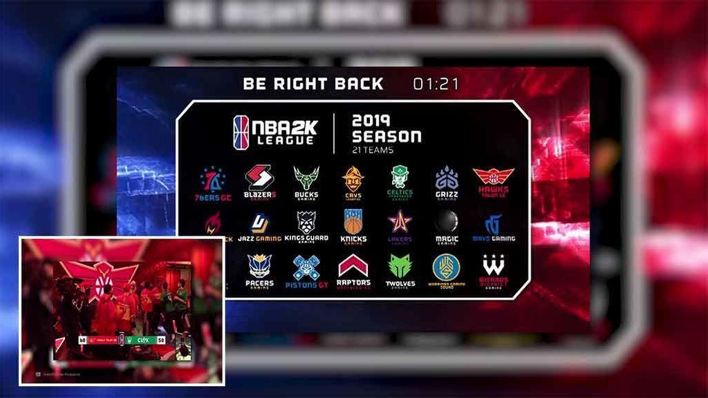 Una pelea entre jugadores, lo más reseñable de la NBA 2K League