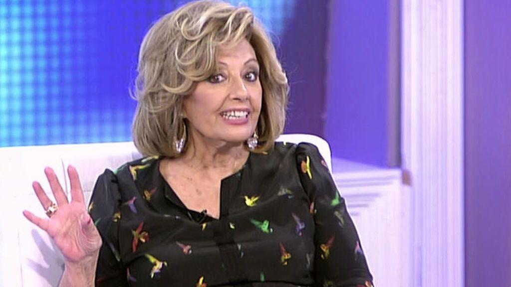 """María Teresa Campos no quiere ni oír hablar de la Pantoja: """"¡Qué me importa que vaya a 'Supervivientes!"""""""