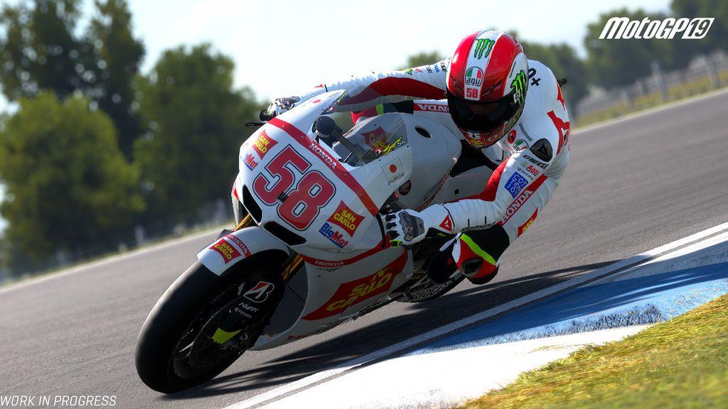 Moto GP 19: Nuevo tráiler 'Pilotos Históricos'