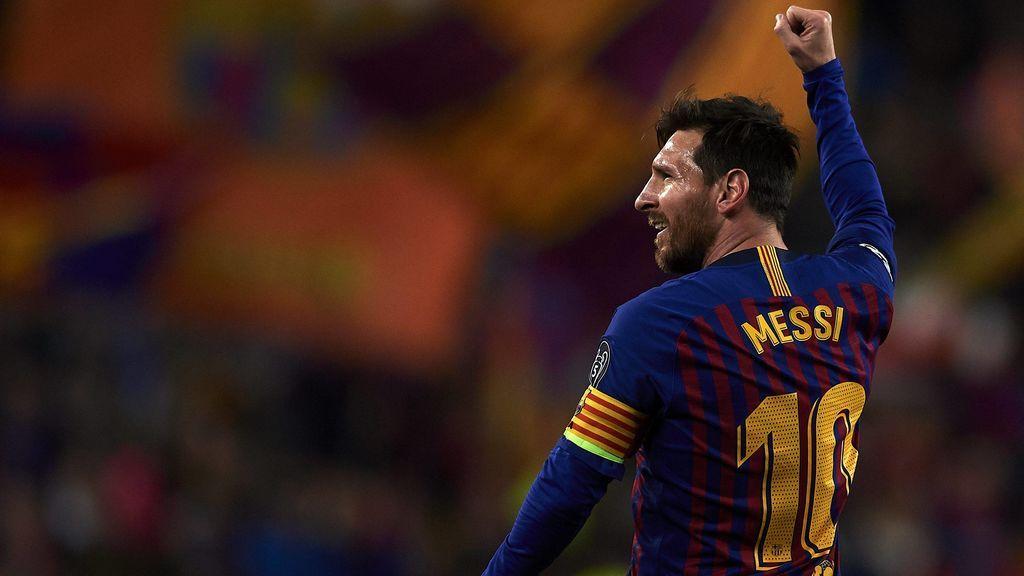 Un Messi estelar lleva al Barça a semifinales de la Champions