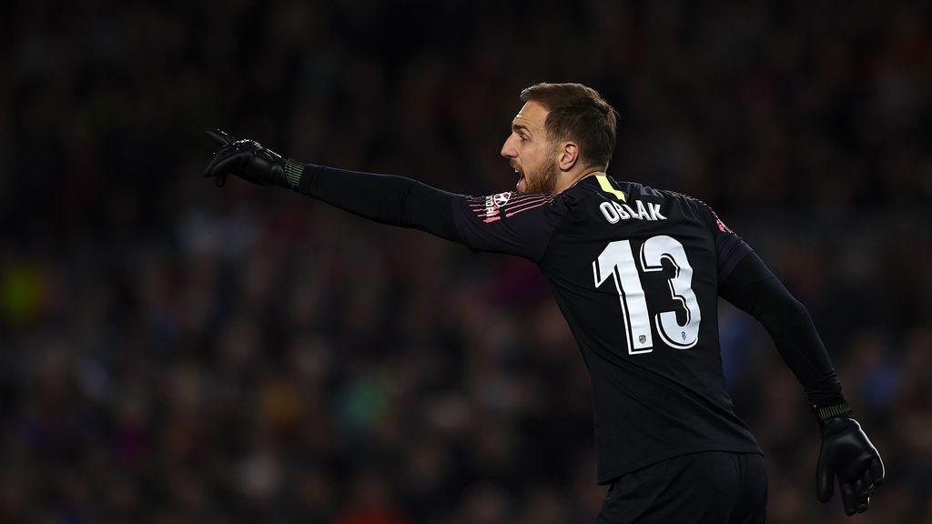 El Atlético de Madrid hace oficial la renovación de Oblak hasta 2023