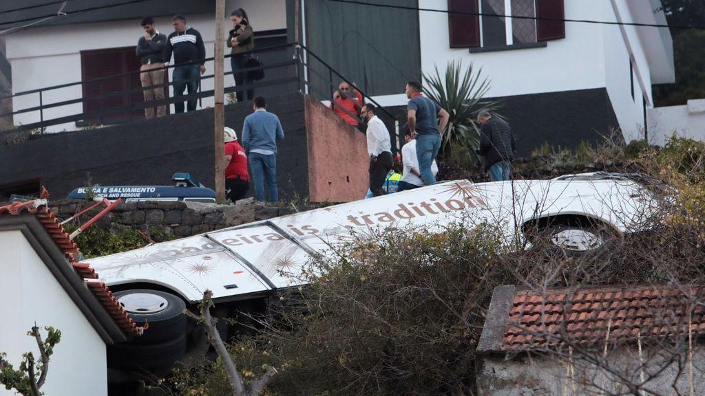 Un fallo en los frenos, principal causa del accidente de Madeira en el que han fallecido 29 personas