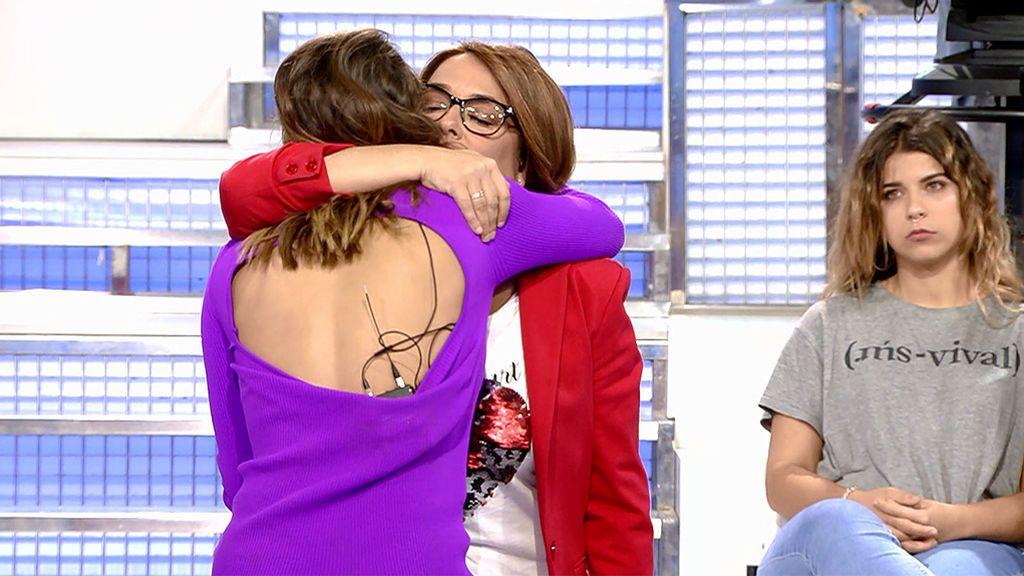 Toñi Moreno invita a Silvia a que abandone el plató de 'MyH'