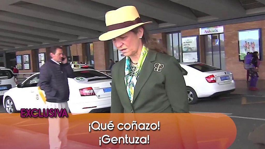 """El enfado de la Infanta Elena: """"¡Qué coñazo! ¡Qué gentuza!"""""""
