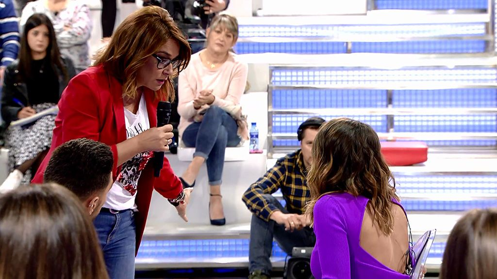 """Toñi, a Silvia: """"Por qué Christian me está diciendo que has ido a Dubái, explícamelo"""""""