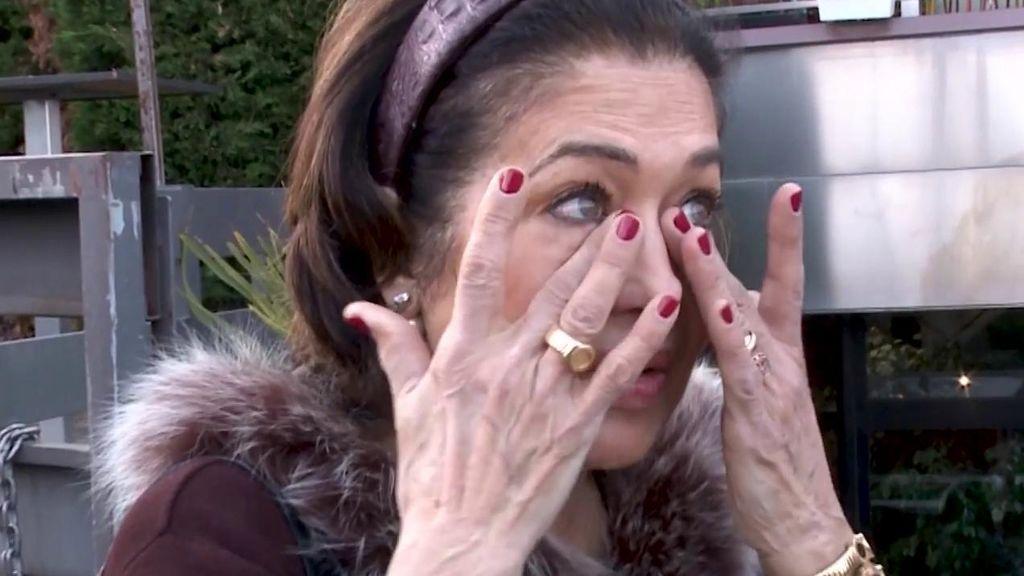 La madre de Elena Tablada, muy afectada por el litigio entre su hija y David Bisbal