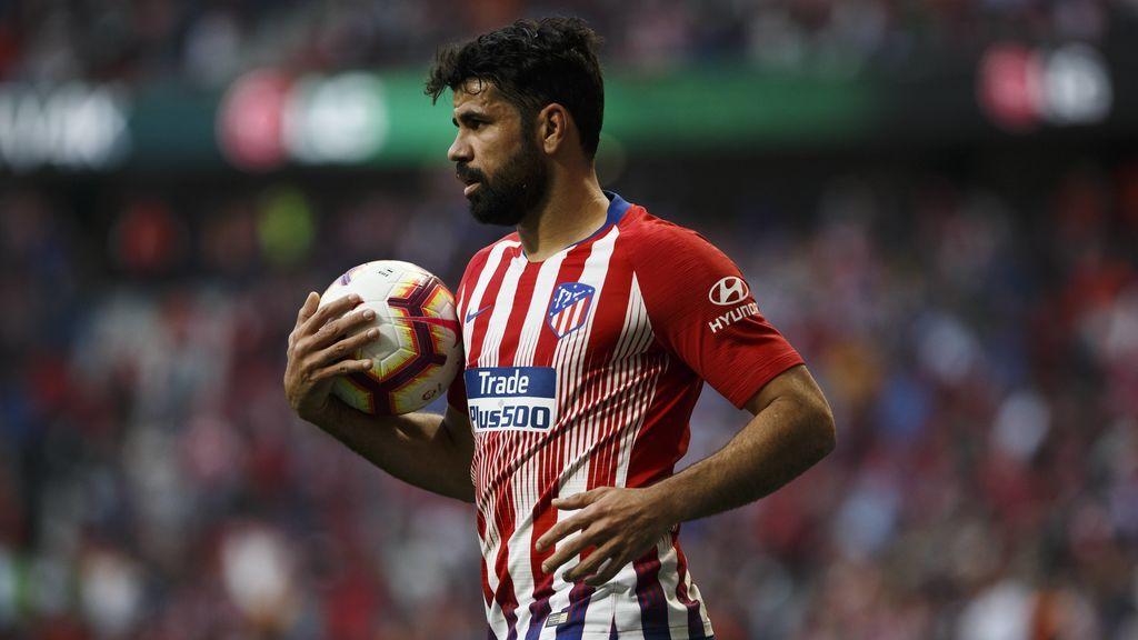 Diego Costa pide perdón a sus compañeros y vuelve a los entrenamientos con el Atlético de Madrid