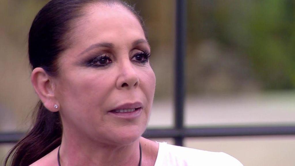 """Isabel Pantoja, de sus futuros compañeros en 'Supervivientes': """"Dos no discuten si uno no quiere"""""""
