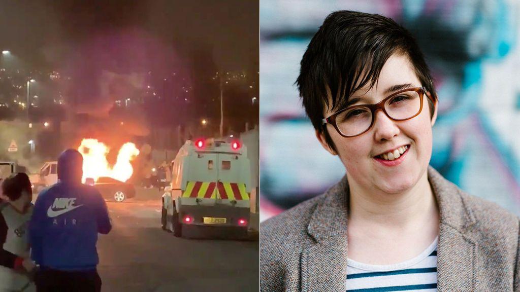 """Asesinan a una periodista en un """"acto terrorista"""" en Irlanda del Norte en Londonderry"""