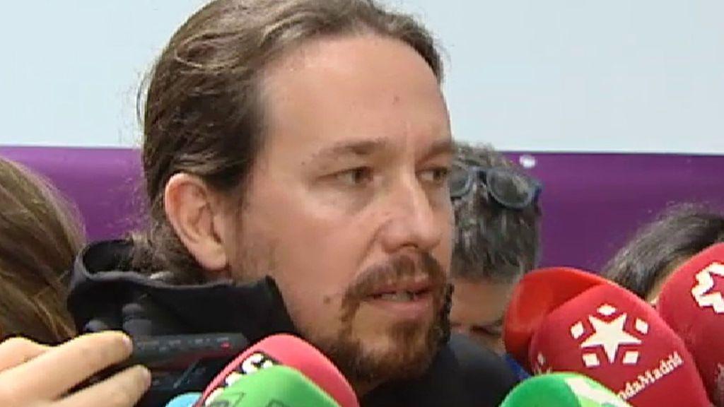 """Iglesias: """"Nunca la televisión pública puede trabajar a favor de un Gobierno"""""""
