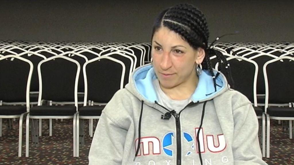La historia de Miriam, la mujer que superó el maltrato a través del boxeo