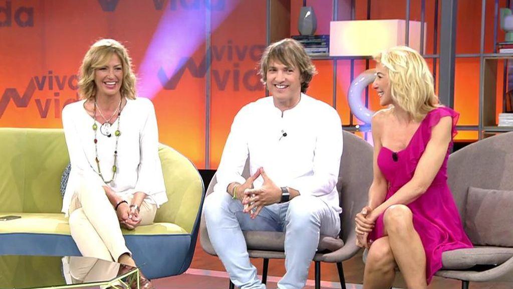 Ismael Beiro, María José Galera y Ania Iglesias, juntos 19 años después del estreno de 'GH'