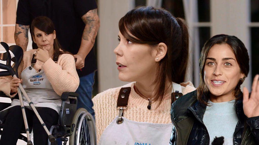 Sonia abandona 'Bake Off' con una pierna rota y sin el cariño de sus rivales