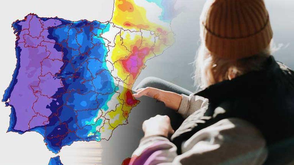 Bajón de hasta 10ºC: un frente frío desplomará los termómetros el martes