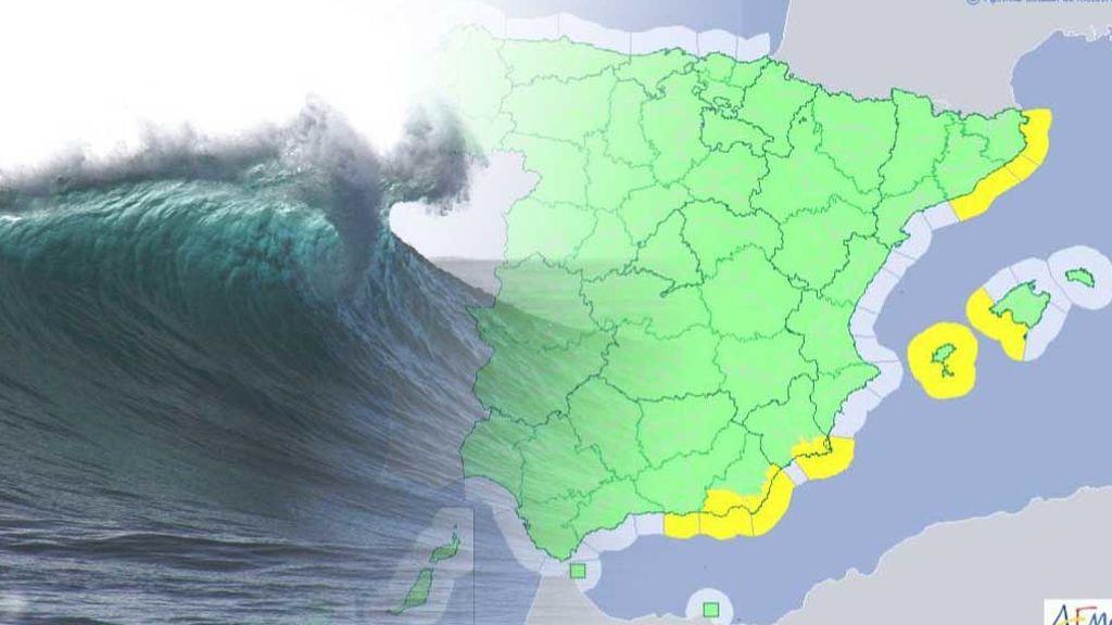 El temporal persiste en el Levante: hay avisos por viento y olas de 3 metros