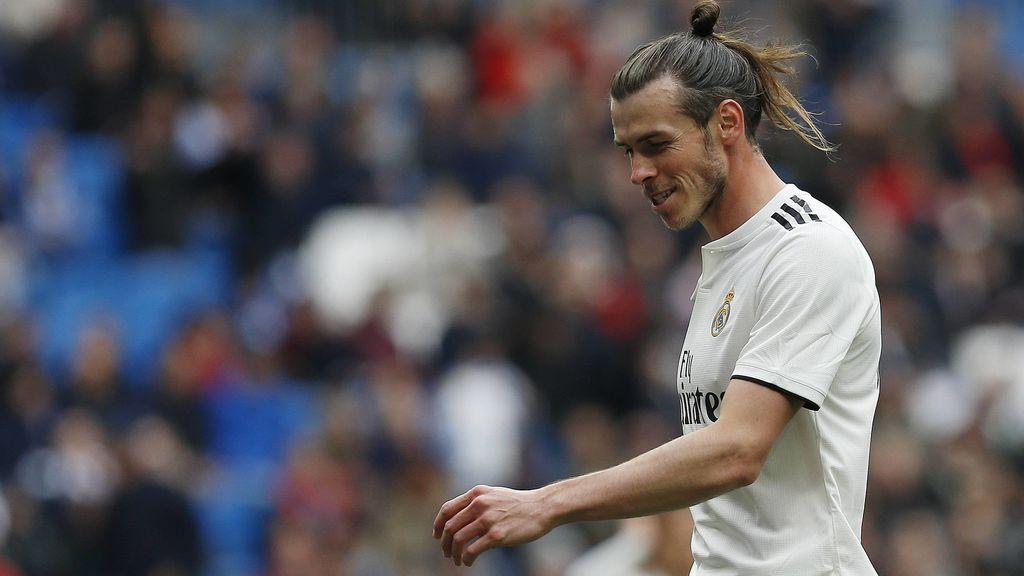 Los pitos del Bernabéu a Bale nada más salir al césped ante el Athletic