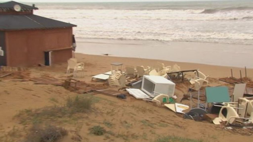 Ayudas de la Generalitat valenciana para paliar los daños del temporal