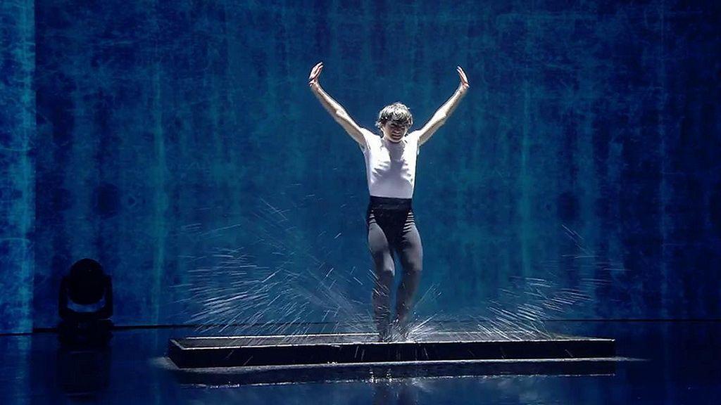 Arturo Fajardo empapa de arte el escenario de 'Got Talent'