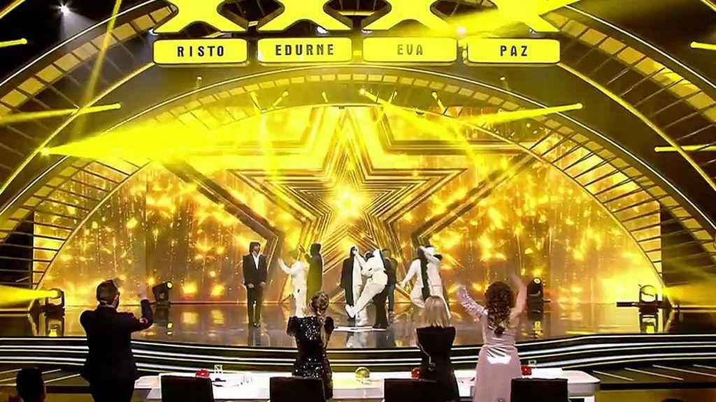 La flipante actuación de Art Gee sale de 'Got Talent' por la puerta grande y con un Pase de Oro