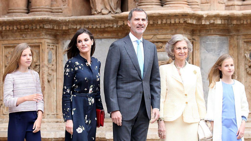 Aciertos y errores de La Familia Real en la Misa de Pascua