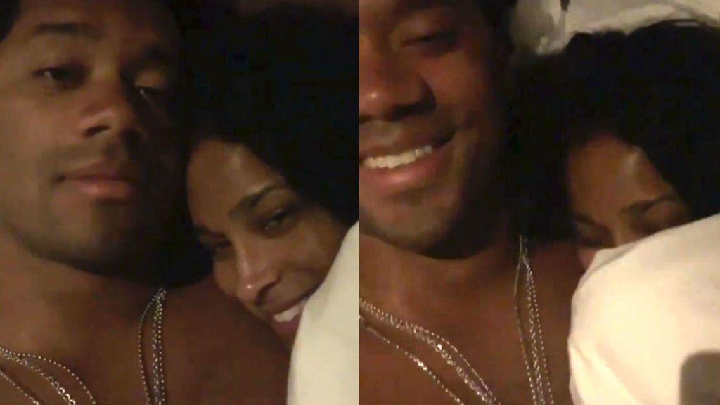 Un jugador de la NFL anuncia su renovación por 140 millones de dólares haciendo 'edredoning' con su novia