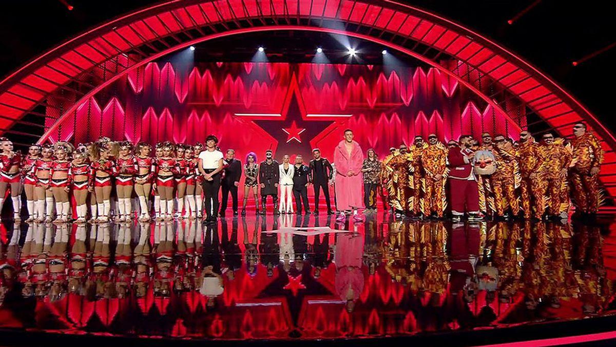 La Murga Zeta Zetas, Art Gee y Arturo Fajardo, directos a la gran final de 'Got Talent España'
