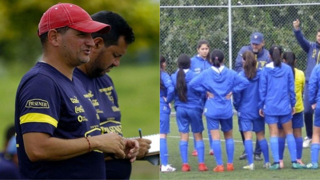 """Suspenden al entrenador de la selección de Ecuador femenina tras una denuncia por acoso sexual: """"Mándame fotos muñequita"""""""