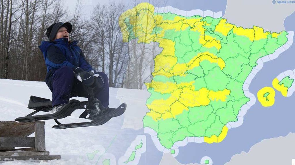 Avisos por hasta 40 cm de nieve: un frente atlántico cubrirá de blanco las montañas del norte del país
