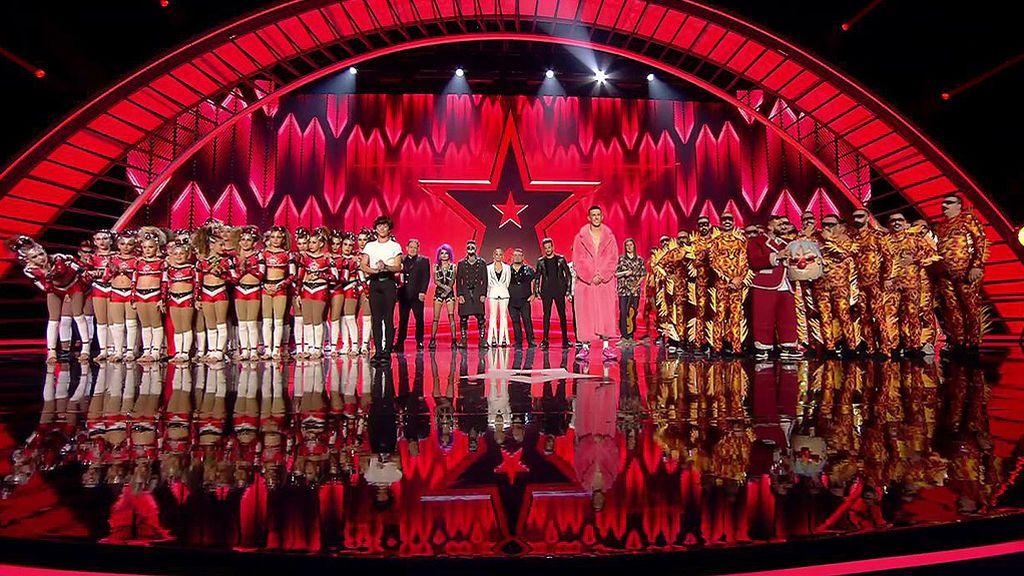 Arturo Fajardo y Murga Zeta Zetas, elegidos para pasar a la final de 'Got Talent'