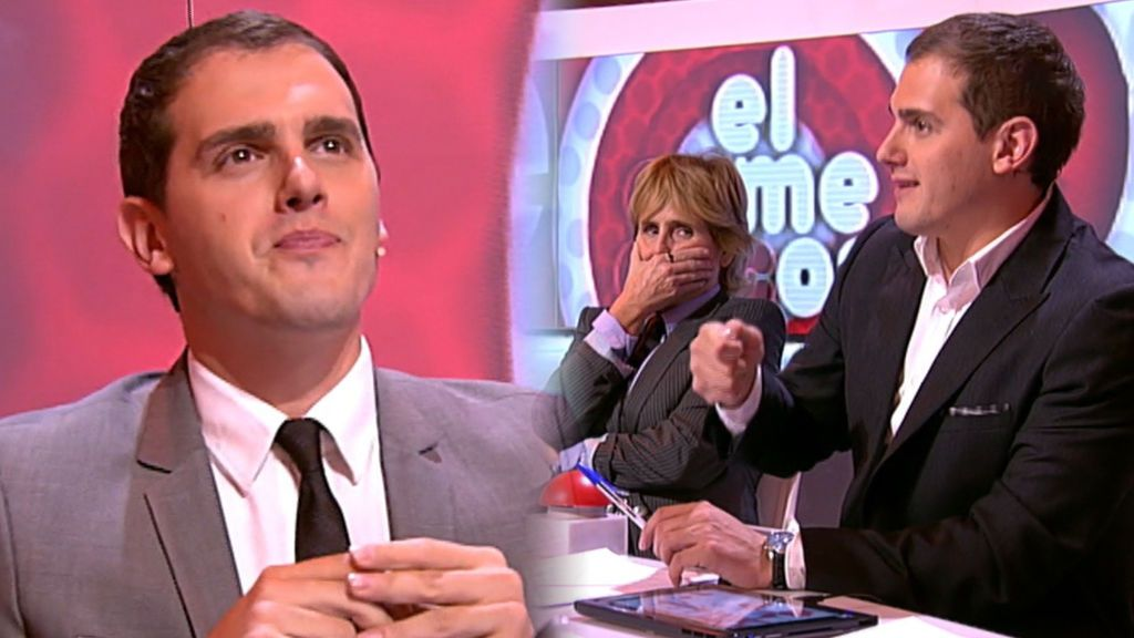 Albert Rivera debutó como jurado de 'talent show' en 2012