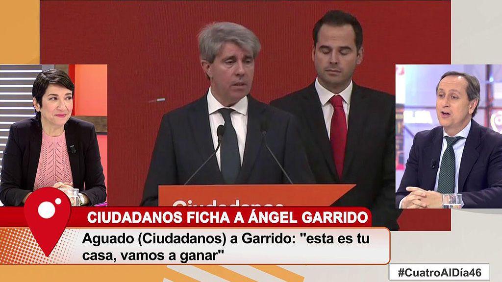 El PP se ha enterado por la prensa del fichaje de Ángel Garrido Por Ciudadanos, según Carmen Ro