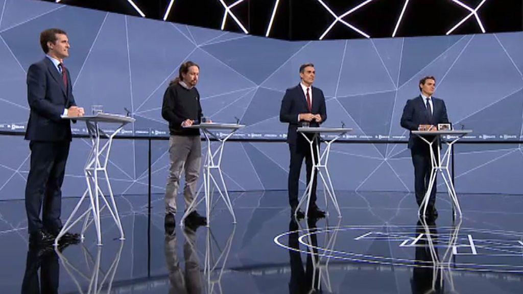 Vota: ¿Qué candidatos han sido los más beneficiados y penalizados en el segundo debate?