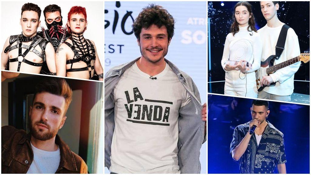Los otros Mikis: Estos son los principales rivales de España en Eurovisión 2019