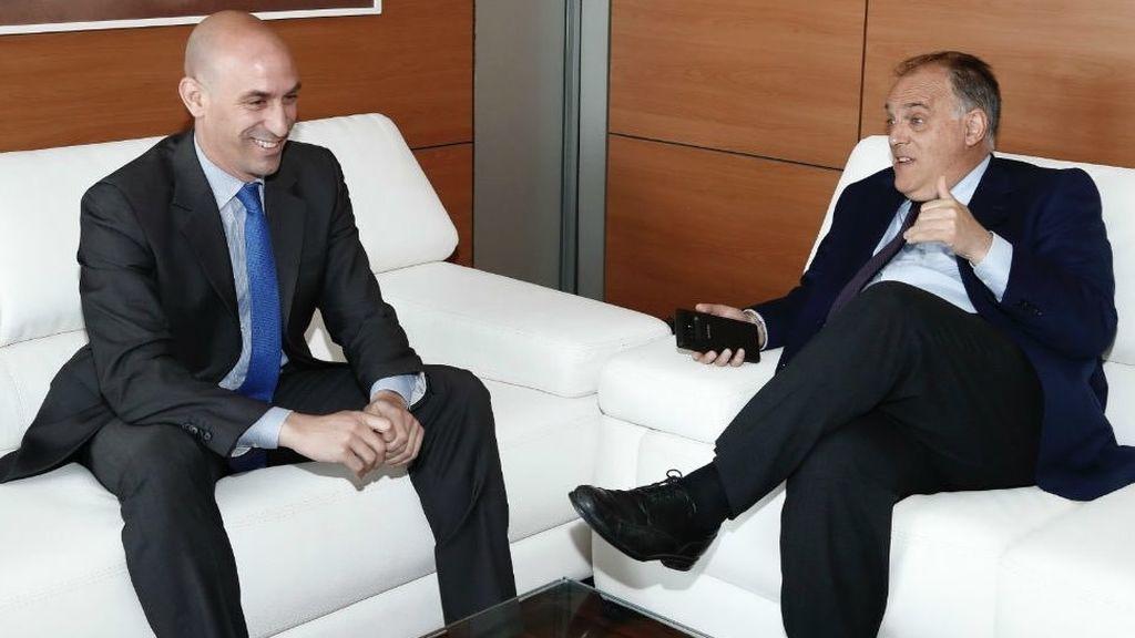 """Rubiales acusa a Tebas: """"Está nervioso porque unos buenos amigos suyos han sobornado a miembros de la FIFA"""""""