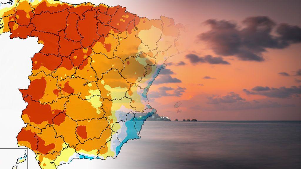 Vuelve el gran anticiclón: temperaturas entre 5 y 10ºC por encima de lo normal el fin de semana