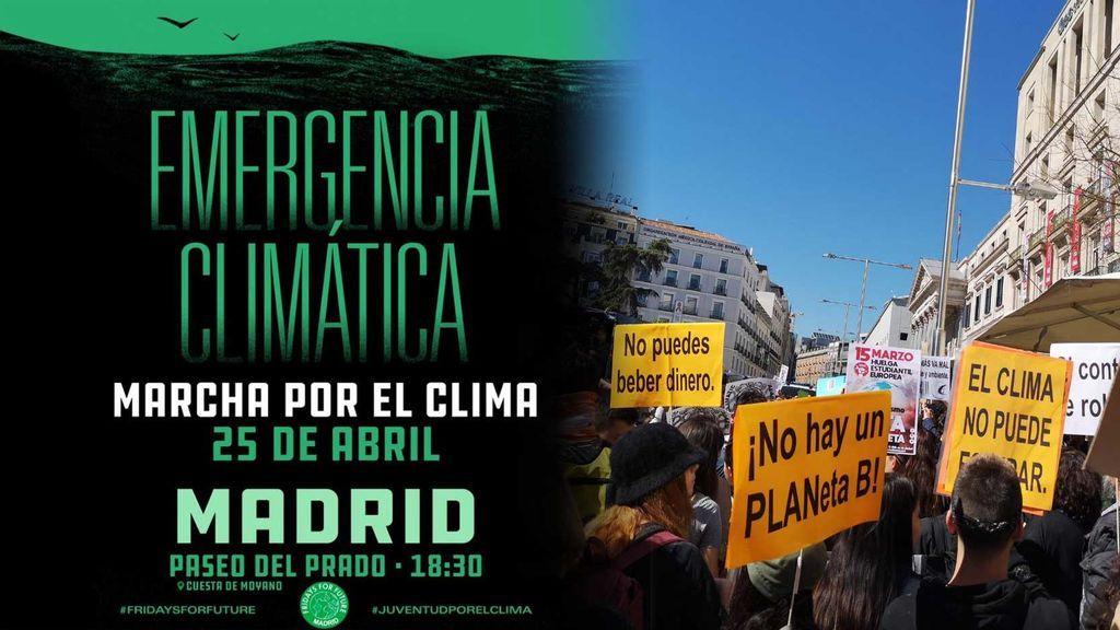 Movilizaciones en toda España: exigen medidas contra la 'emergencia climática' a las puertas de las elecciones