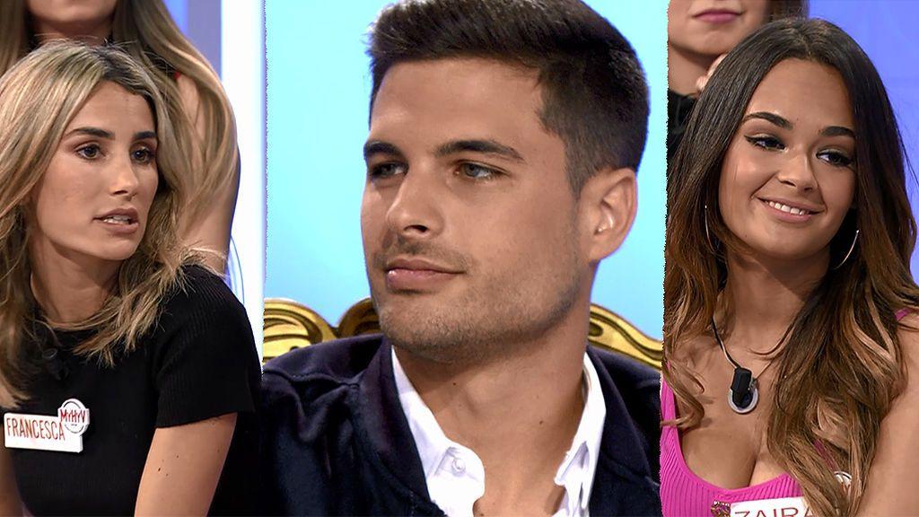 Miguel ha pedido a dos pretendientas de Manu: Francesca y Zaira