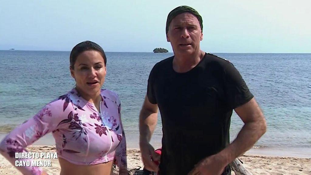 """Mónica Hoyos y Carlos Lozano se reencuentran entre indirectas y piropos: """"Me voy a poner mona para ti"""""""