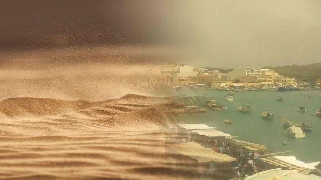 Arena del Sáhara en Groenlandia: el polvo del desierto viaja por toda Europa