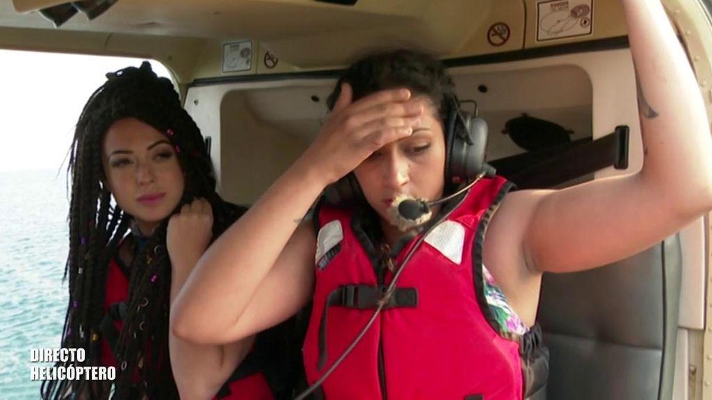 Tensión, emoción y muchas lágrimas en los saltos desde el helicóptero de 'SV 2019'