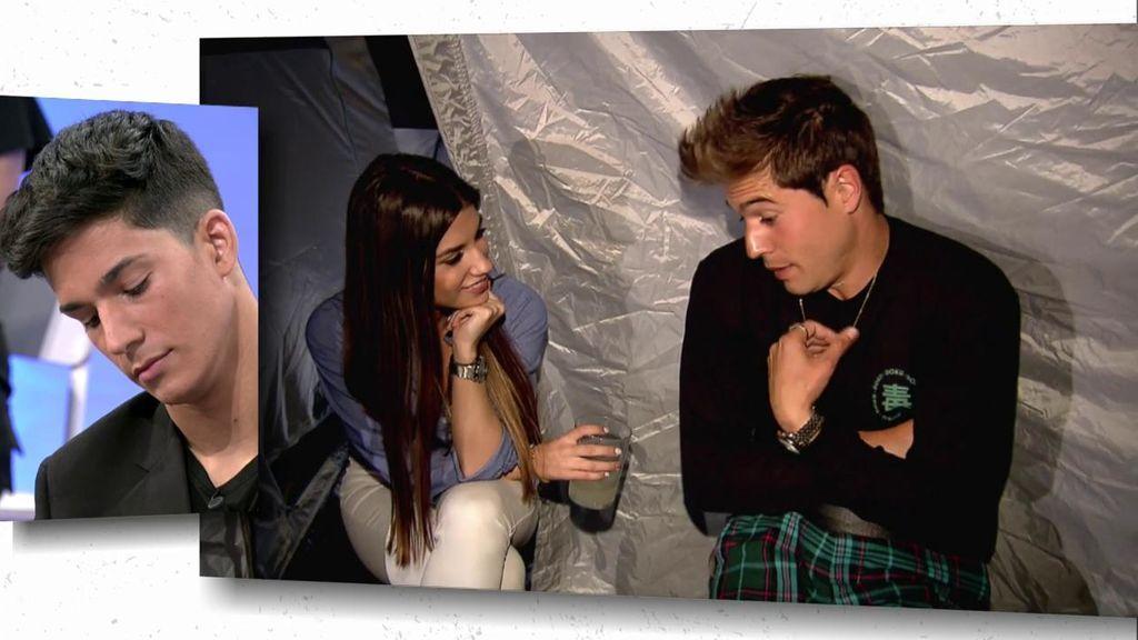 Cita imprevista: Jenni se queda a solas con Abraham en una tienda de campaña