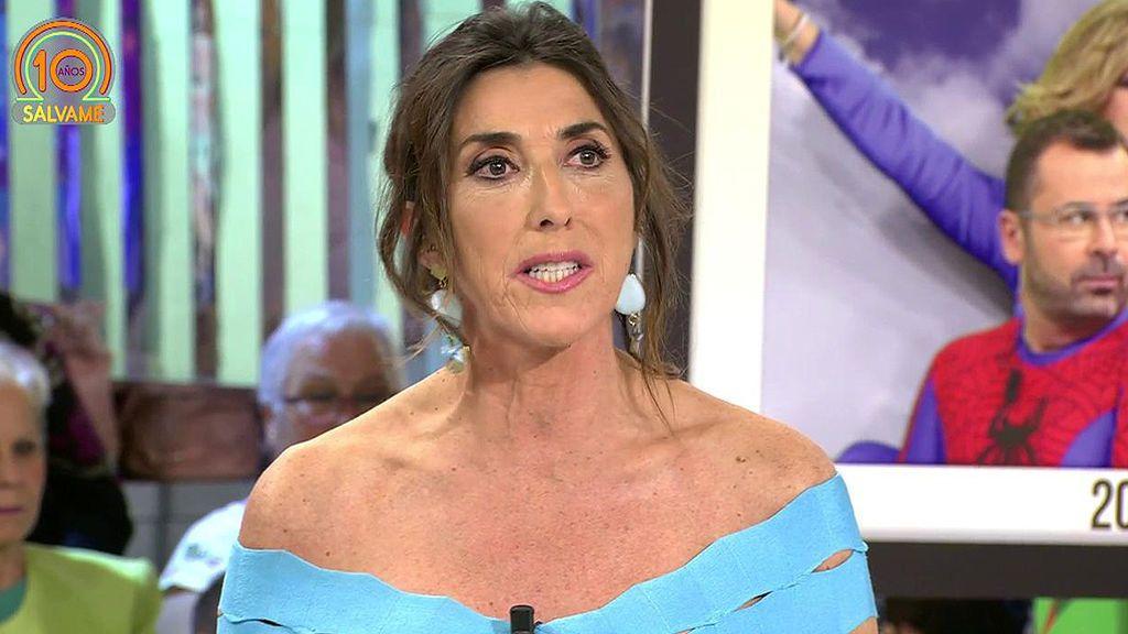 """Paz Padilla recuerda cómo empezó en 'Sálvame': """"Pequé de imprudente"""""""