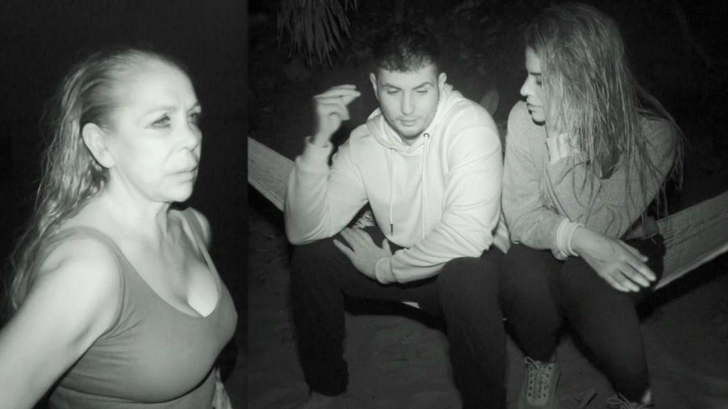 La primera noche de los concursantes en la playa: confesiones antes de dormir