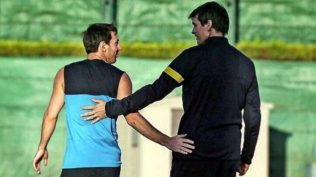 Tito Vilanova convenció a Messi de seguir en el Barcelona seis días antes de morir